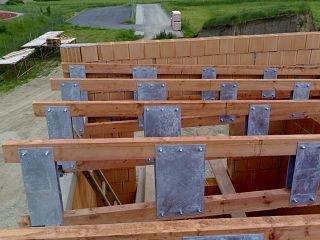Nosná konstrukce ploché střechy