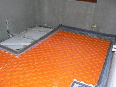 Stavba sprchového koutu bez vaničky