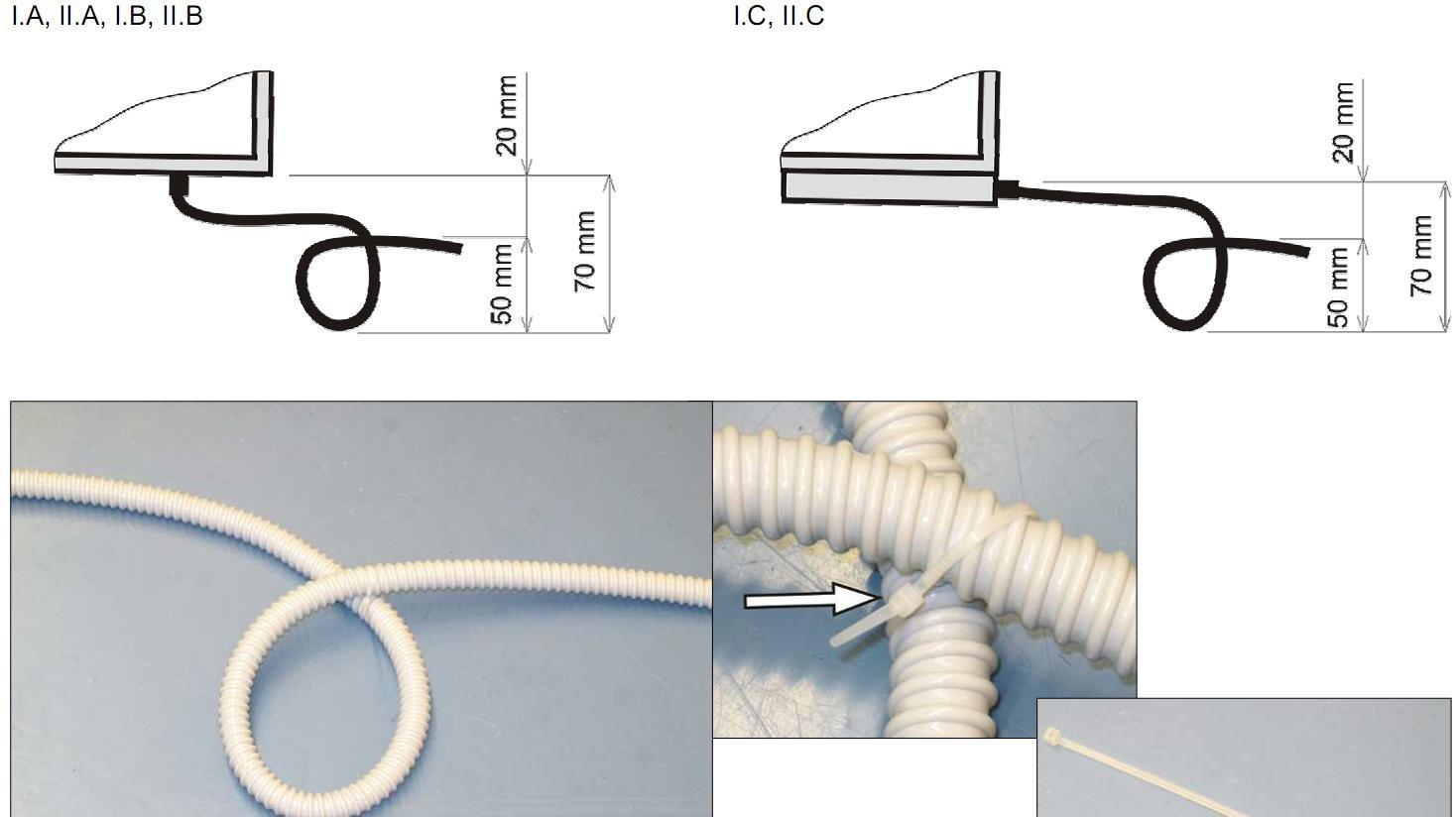 Potrubí pro odvod kondenzátu