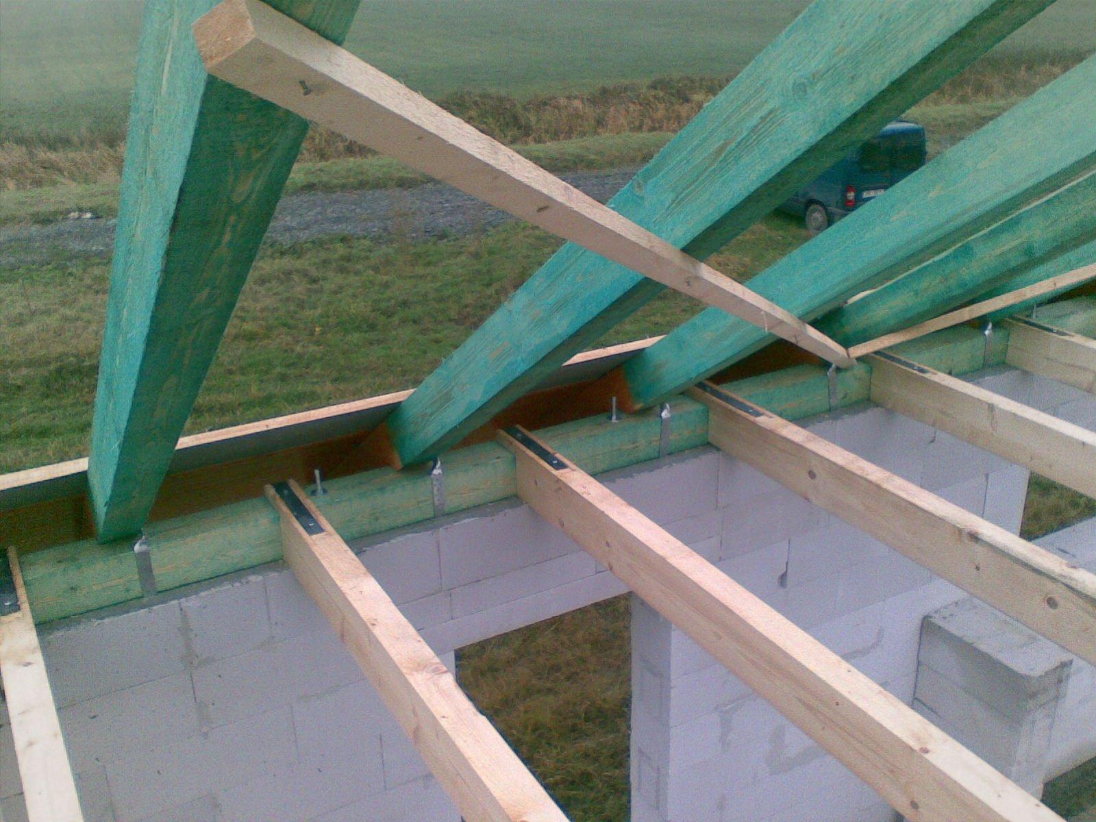 Cena krovu sedlová střecha