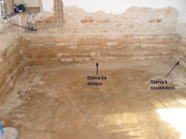 Odvětrání podlahy drenážní trubkou