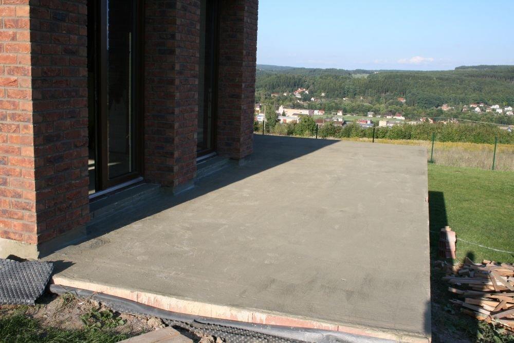 Jaký beton na terasu