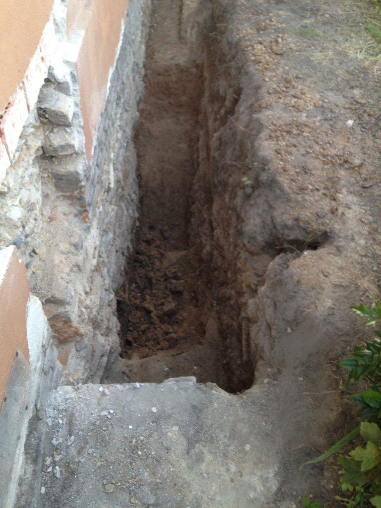 Odkopání domu cena