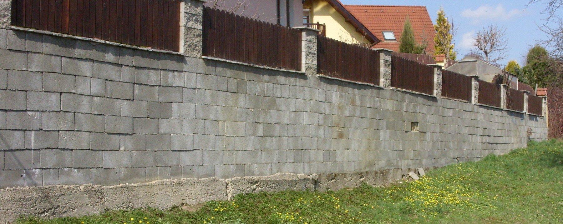Zeď ze ztraceného bednění cena